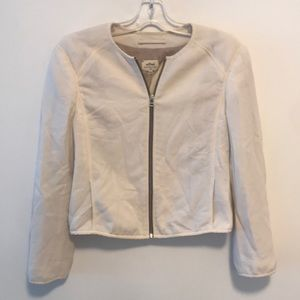 Wilfred ivory zip jacket sz 6